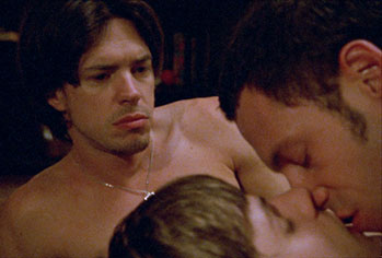 Dominant shortbus gay sex scene gets