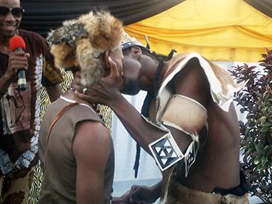 Zulu Royal House Traditional Gay Wedding Unholy