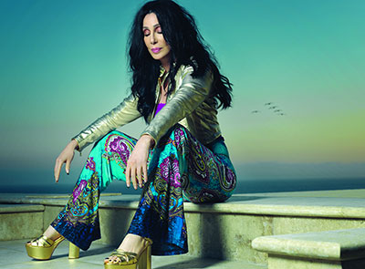 Cher today, at 67