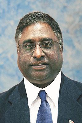 eThekwini Municipal Council Speaker, Cllr Logie Naidoo