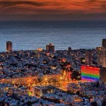 TEL AVIV LIGHTS UP IN RAINBOW COLOURS FOR GAY PRIDE