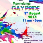 2ND MPUMALANGA GAY PRIDE ANNOUNCED
