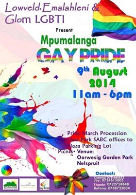 Second Mpumalanga Pride announced in Nelspruit