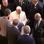 Lesbian politician gives Pope 'gay' present