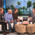 Watch: Gay coming out twins visit Ellen with their dad