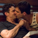 Look! James Franco & Zachary Quinto in movie threesome pics