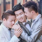 Men's three-way gay marriage makes waves