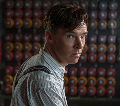 Benedict Cumberbatch is Alan Turning in The Imitation Game