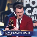 Sam Smith scores at the Grammys