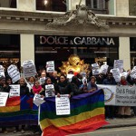 London protests Dolce and Gabbana while Madonna speaks out