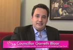 Councillor Garreth Bloor appeared in the MGW 2015 bid video