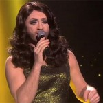 Watch: Fake Conchita Wurst shocks audience