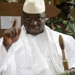 Gambian president says he'll slit gays' throats