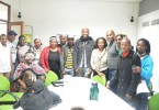 Participants in the workshop on the struggles of gay and lesbian sangomas. (Pic:  Pharie Sefali)
