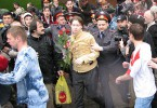 Nikolai Alekseev being arrested at the first banned Moscow Pride in 2006