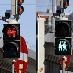 Vienna installs gay traffic lights for pink Eurovision tourists