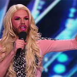 Watch: bearded drag comic wows America's Got Talent