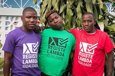 Lambda supporters  (Pic: Lambda)