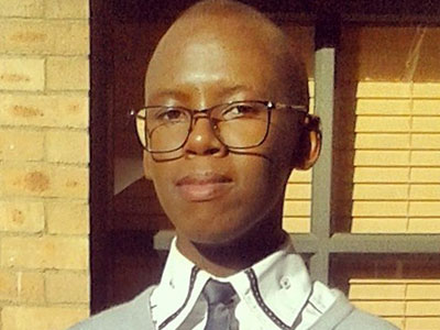Mncedisi Mpungose, one of the 2015 scholarship recipients, is in his 4th year of an LLB at the University of KZN and has secured articles at Webber Wentzel Attorneys. Growing up as a gay man in rural KZN, he wants to make an impact on the lives of LGBT youth.