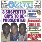Three acquitted of homosexuality in Gambia