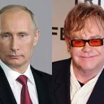 Surprise as Putin phones Elton John over LGBT rights