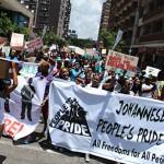 Johannesburg People's Pride backs student protests