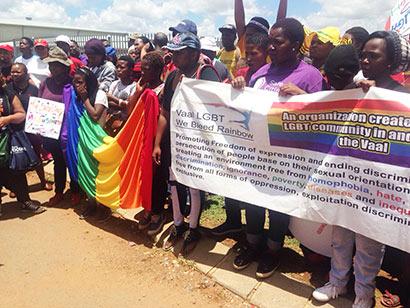 Demand justice for Motshidisi Pascalina (Pic: Lerato Phalakatshela,)