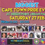 Cape Town Pride 2016 – all the details