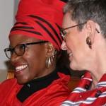 Tutu's daughter marries female partner