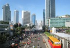 Jakarta, the capital of Indonesia