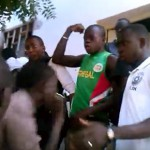 Homophobic student mob riots and attacks gay man in Senegal