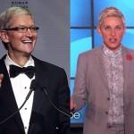 Tim Cook & Ellen DeGeneres are most powerful LGBT people