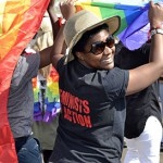 Namibia's Swakopmund celebrates its first Pride march