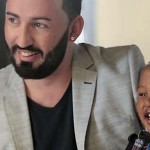 Here's the gay dad and son featured in Jet Stores ad campaign