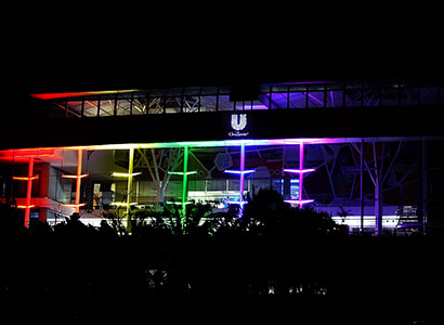 Unilever-lights-up-in-rainbow-colours-for-Durban-Pride