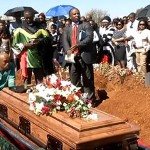 Lesley Makousa, murdered gay Potch teen, laid to rest