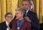 ellen-almost-misses-white-house-medal-ceremony