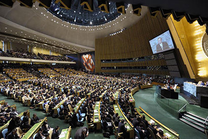 UN General Assembly (Pic UN News)