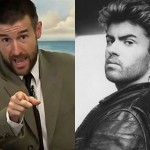 Revolting Steven Anderson celebrates George Michael's death