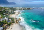 Cape Town's Clifton beaches (Pic: SkyPixels)