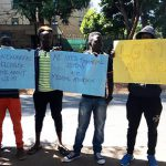 """LGBTI are also humans"" – Desperate refugees protest in Nairobi"
