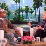 Ellen and Pharrell talk prejudice as homophobic gospel star loses radio show