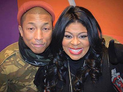 Pharrell Williams & Kim Burrell (Facebook)