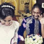 """Pics: Congratulations flow for Caster Semenya's """"perfect"""" wedding"""