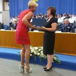 Watch: Gay man graduates at air force academy in red dress and heels