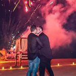 Cher & fireworks! That's Colton Haynes' incredible marriage proposal