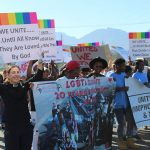 LGBTI community marches against hate crimes and homophobia