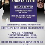 Joburg clubbing: Skirts vs Shorts party