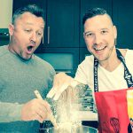 Here are the two gay dads competing on My Kitchen Rules SA