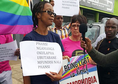 Pastors against homosexuality